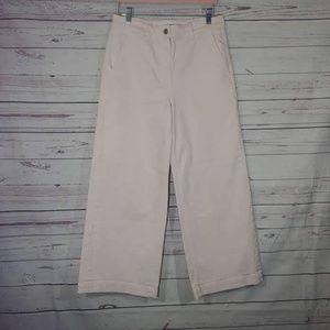 Everlane Wide Leg Cropped Jeans Sz 8